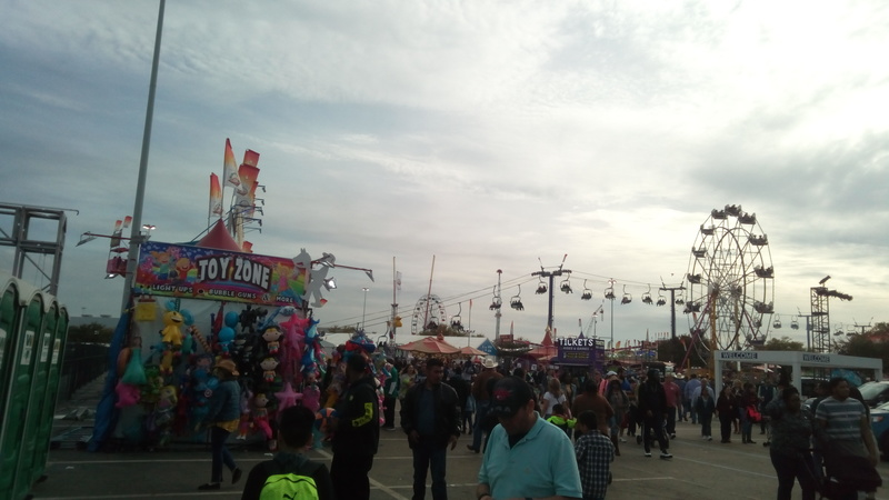 Image showing giant wheel at the event